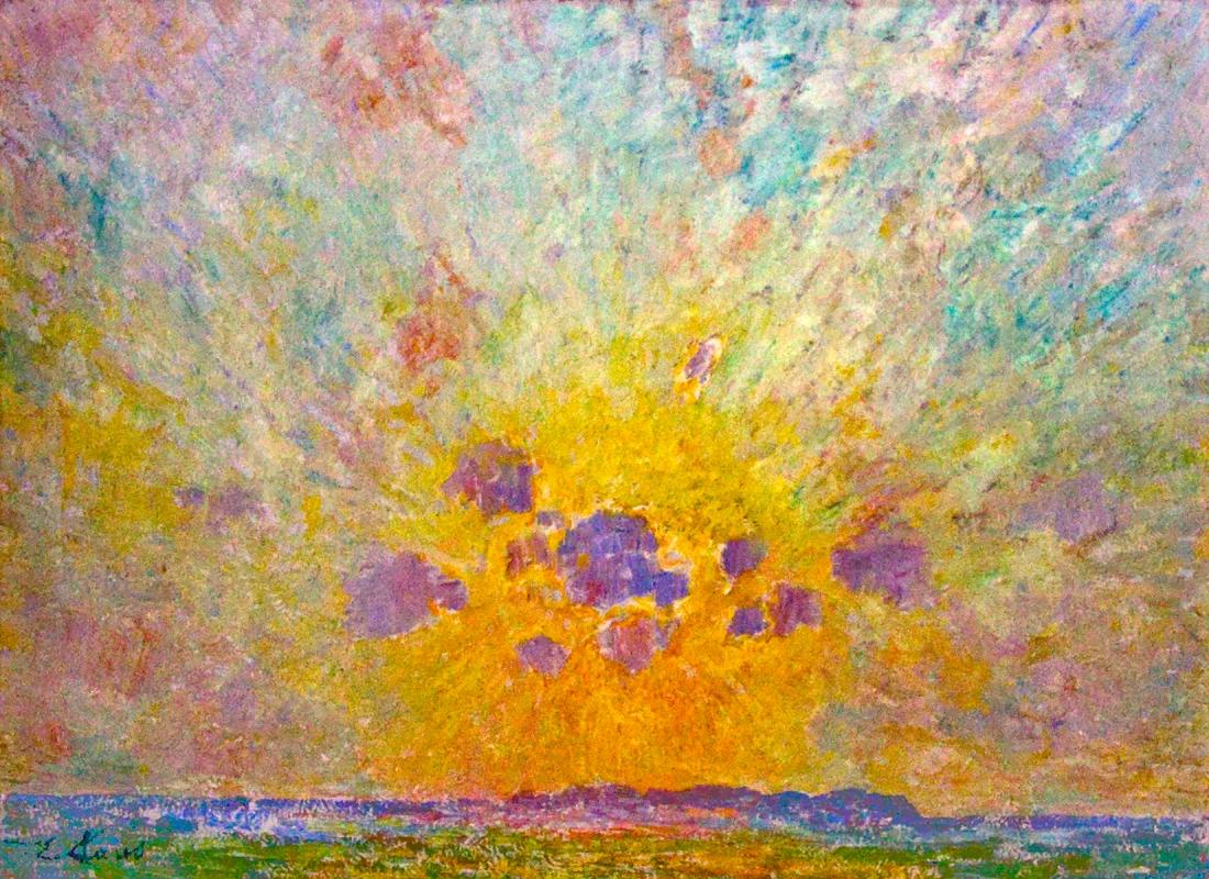 """Zonnegloed"". 1905."