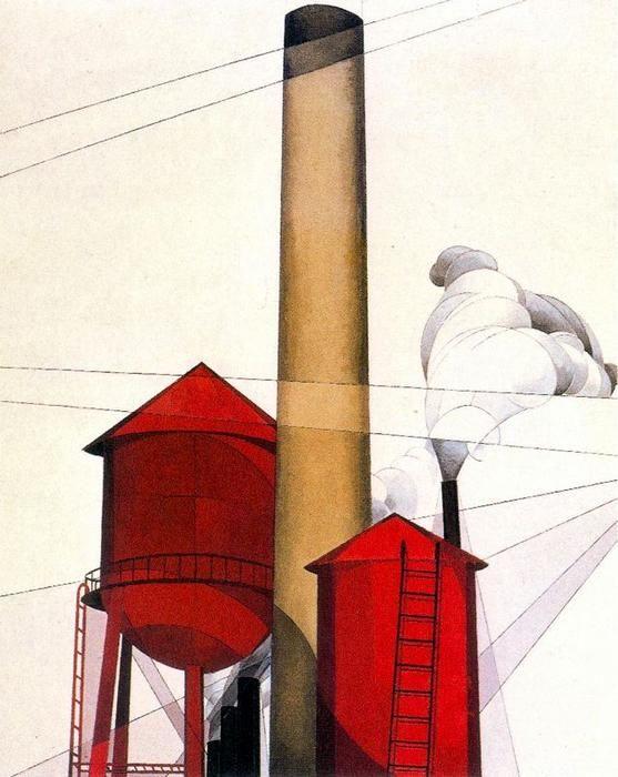 """""""Buildings"""". 1930-1931."""