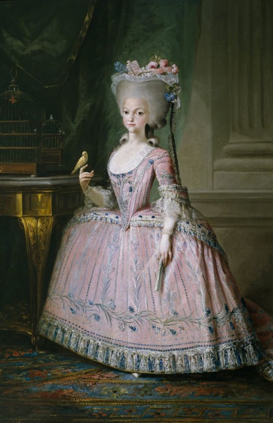 Carlota Joaquina de Bourbon, Queen of Portugal and Princess of Spain. 1785.
