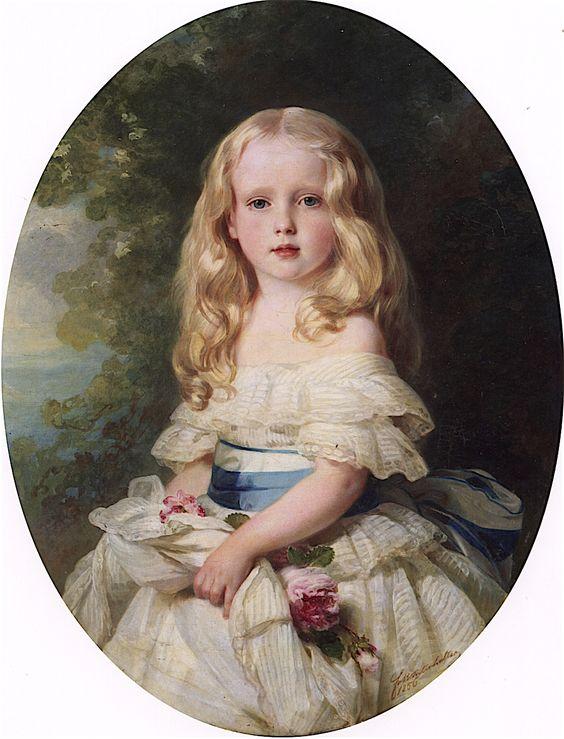 Luise von Boden, Princess Biron of Curland.  1856