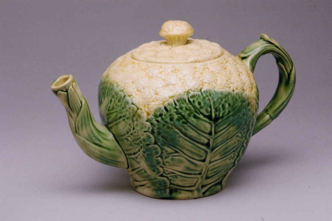Cauliflower teapot. 1880-89.