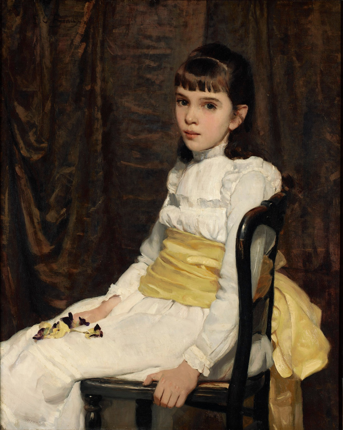 """A Little Girl"". 1887."