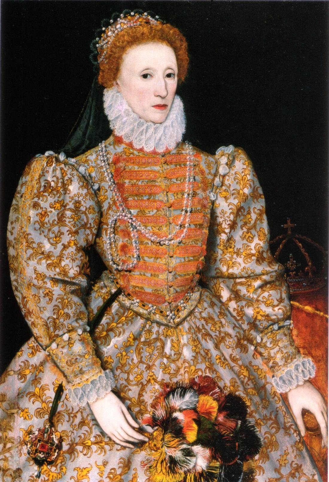 Elizabeth I of England. ca. 1575.