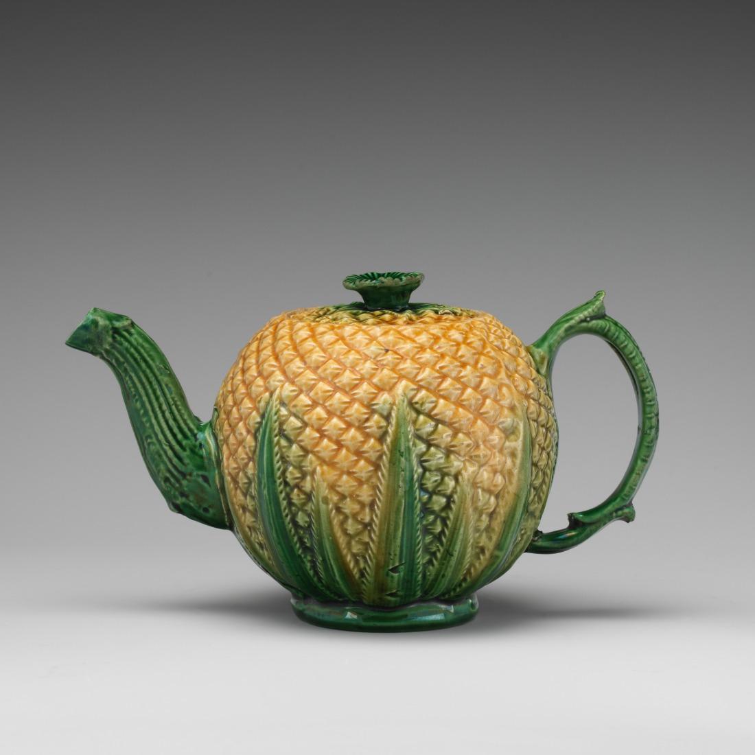 Corn teapot. ca. 1750-70.