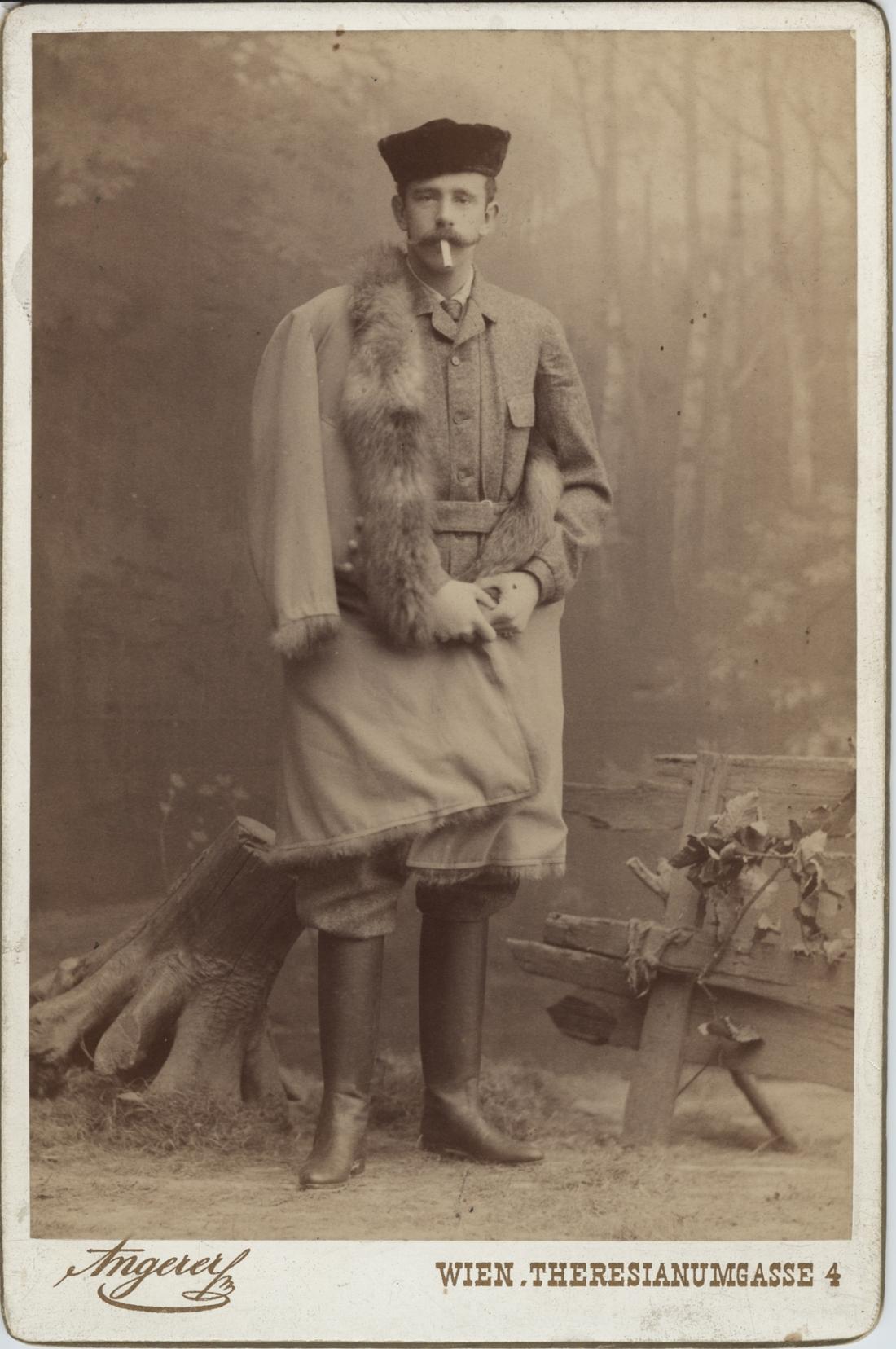 Crown Prince Rudolf of Austria-Hungary. January, 1889.