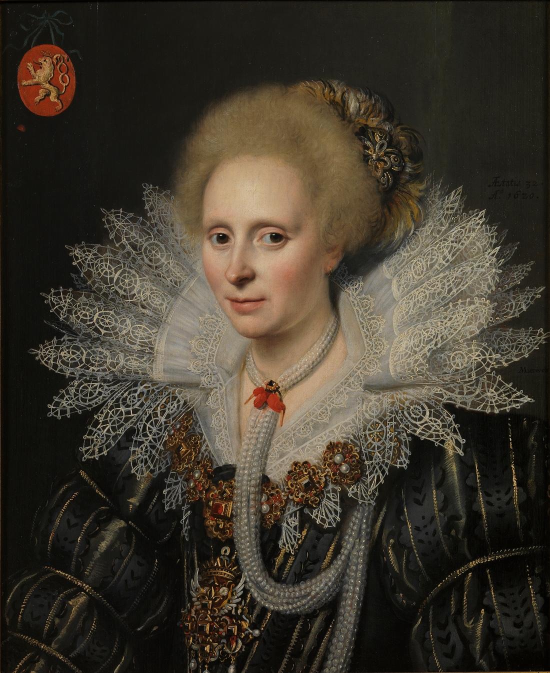 Probably Theodora van Duvenvoorde. 1620.