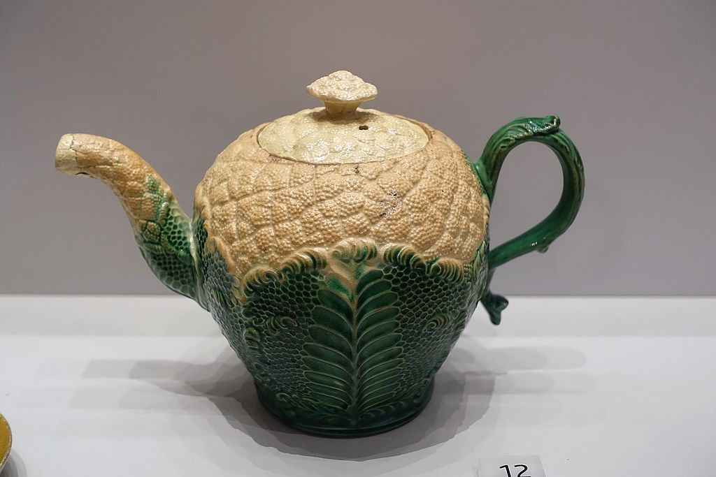 Cauliflower teapot. 1765.