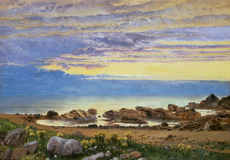 """Dawn over the Sea."" Undated."
