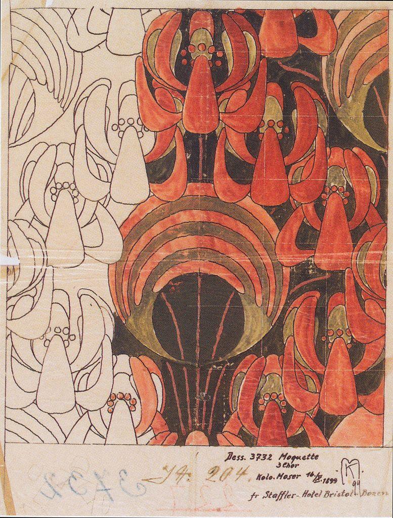 """""""Lindenbüten."""" 1898."""