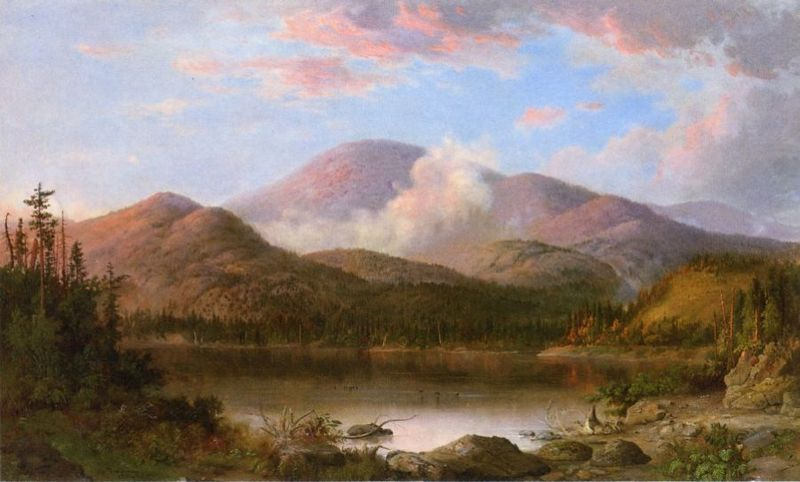 """Mount Oxford."" mid 19th c."