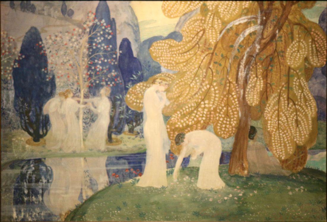"""Nymphes Dansant.""1898."