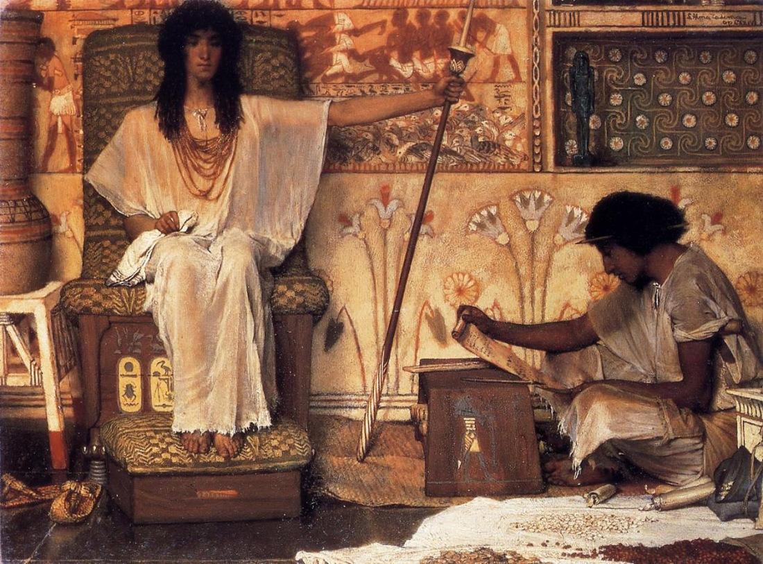 """Joseph Overseer of Pharaoh's Graneries,"" 1874."