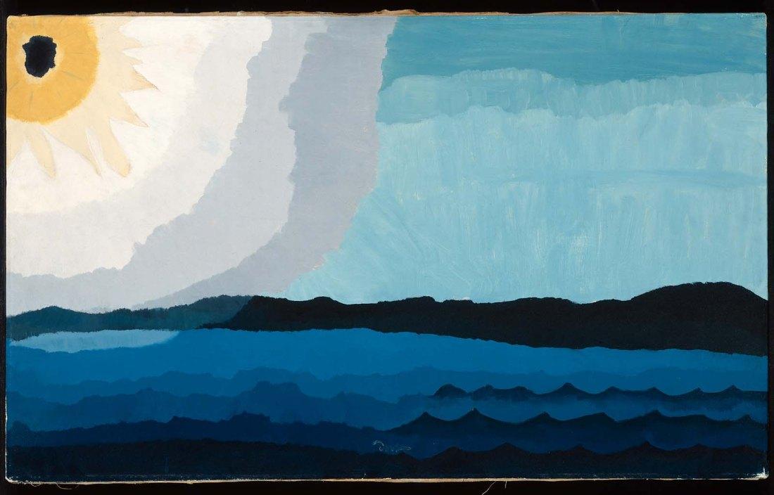 """Sun on the Lake."" 1938."