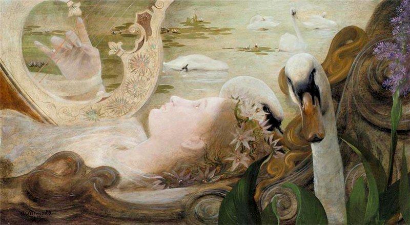 """""""Ophelia."""" 1893."""