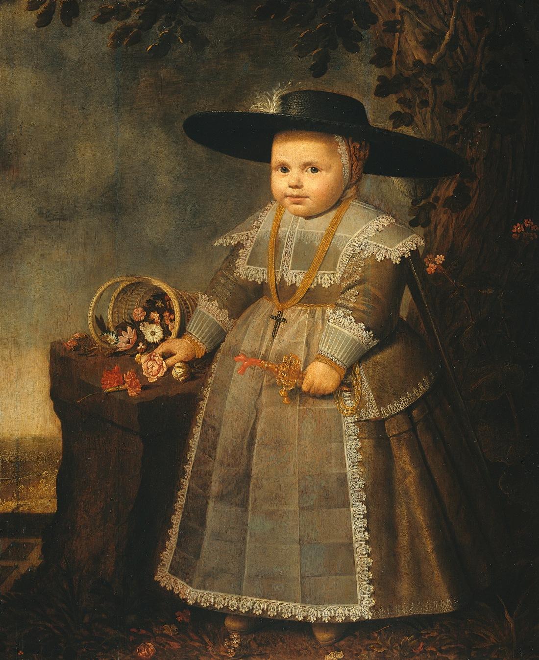 Portrait of Michiel van der Dussen. 17th c. Dutch.
