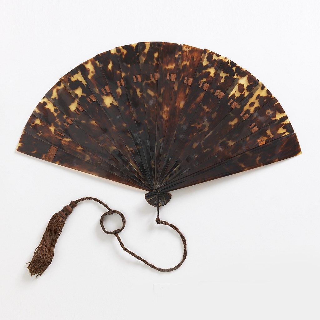 Brisé Fan. ca. 1875
