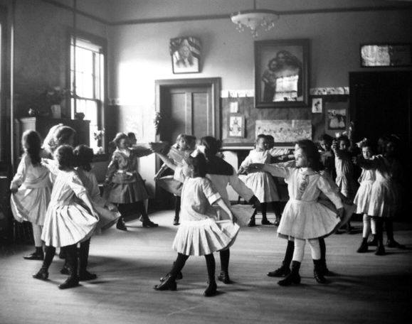 Students attending William Lee's dance class, Georgetown, Washington, DC. ca. 1919.