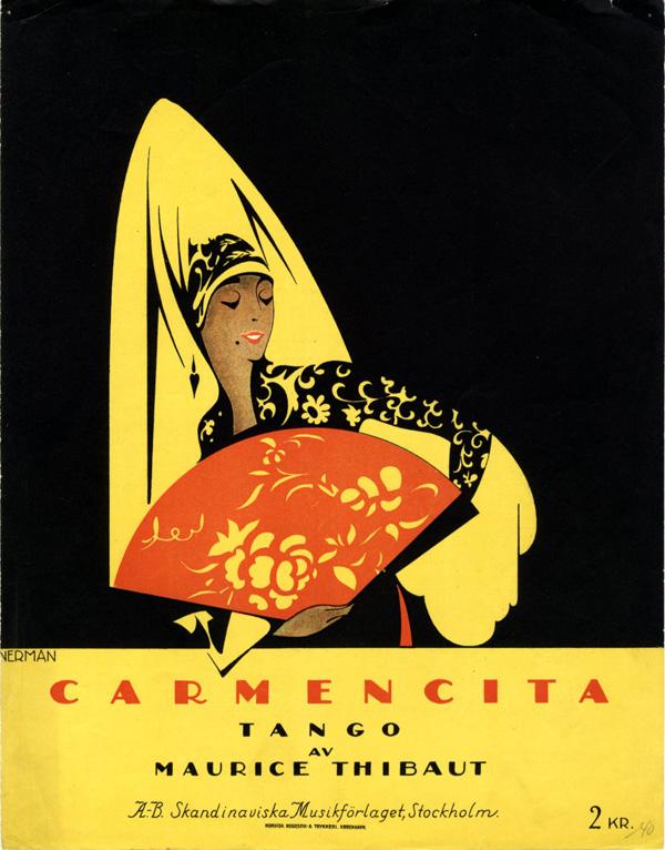 """Carmencita."" 1925."
