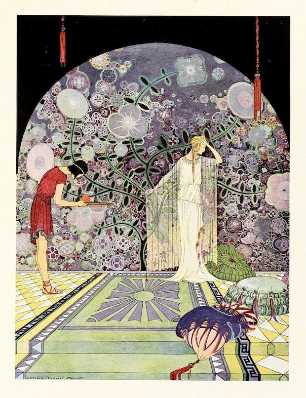 """I shall not touch it I assure you"", said she. 1921."