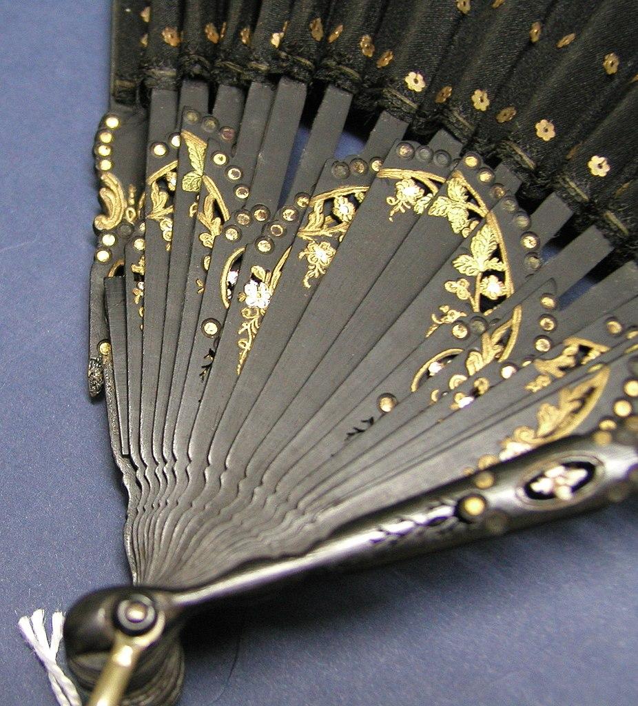 Lady's fan. 19th c.