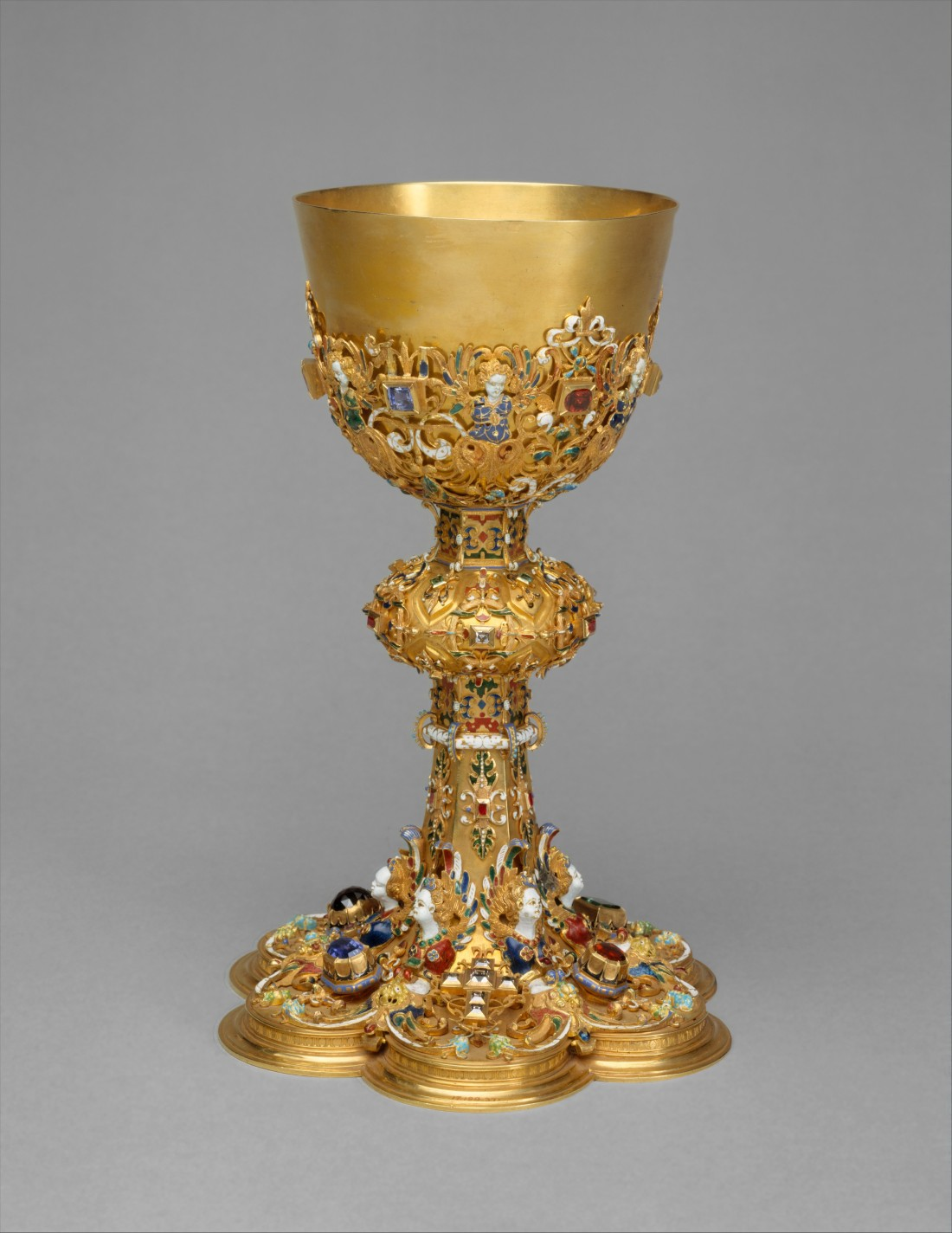 Chalice. 1608 with later restorations.