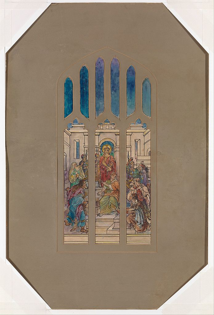 Window design. Late 19th-early 20th c.