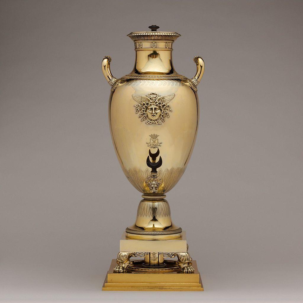 Hot water urn. 1798-1809.