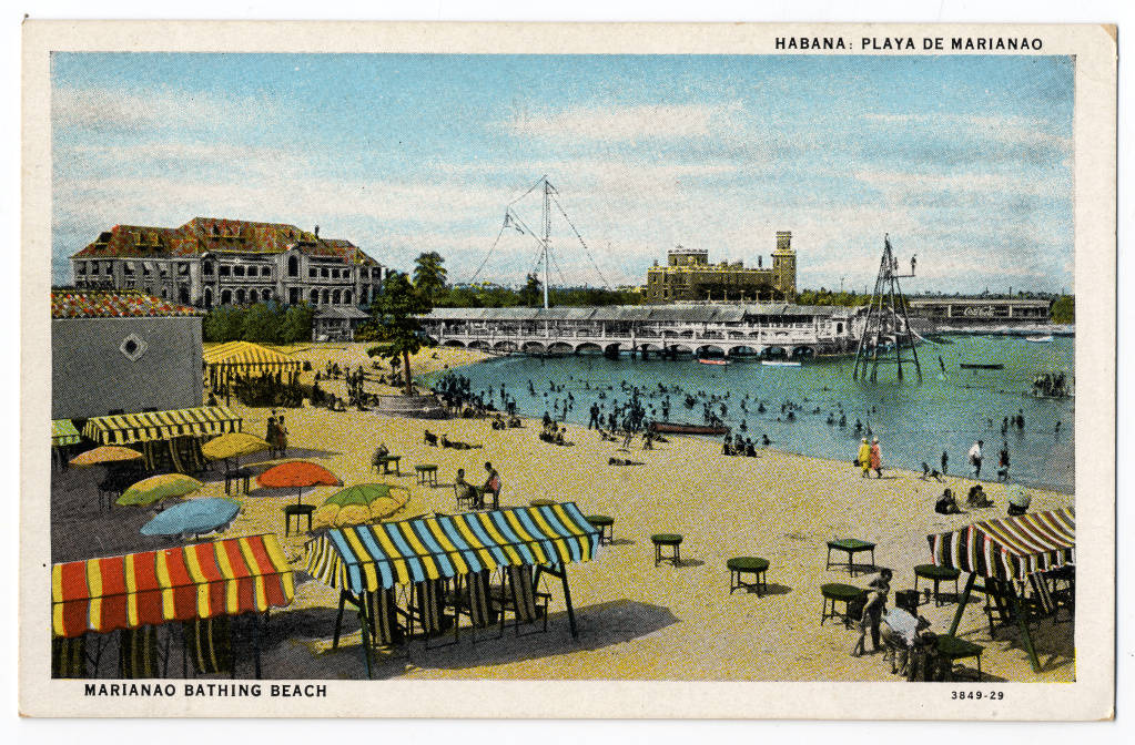 Playa de Marianao, Havana. Undated.