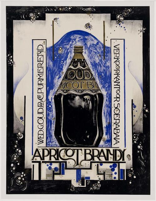 Apricot Brandy. ca. 1920. Dutch.