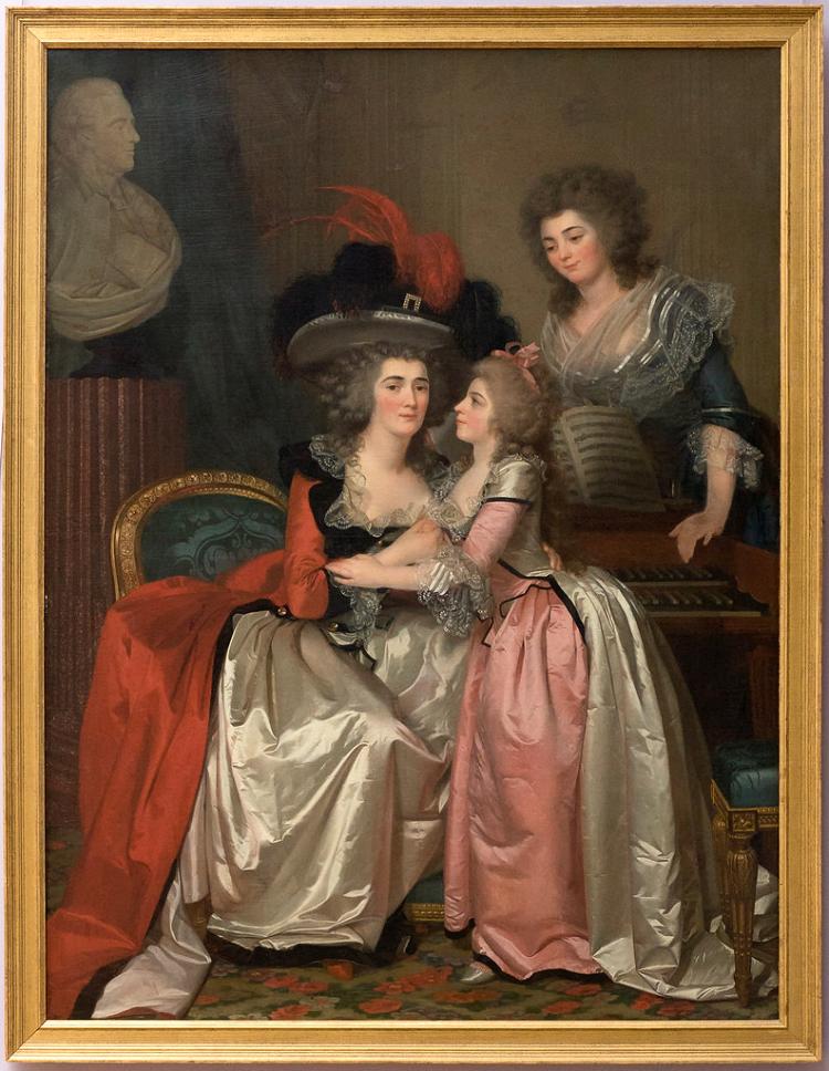 La famille Bergeret de Grandcourt. ca. 1785.