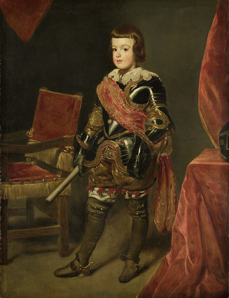 Infante Balthasar Carlos of Spain. ca. 1639 and 1645.