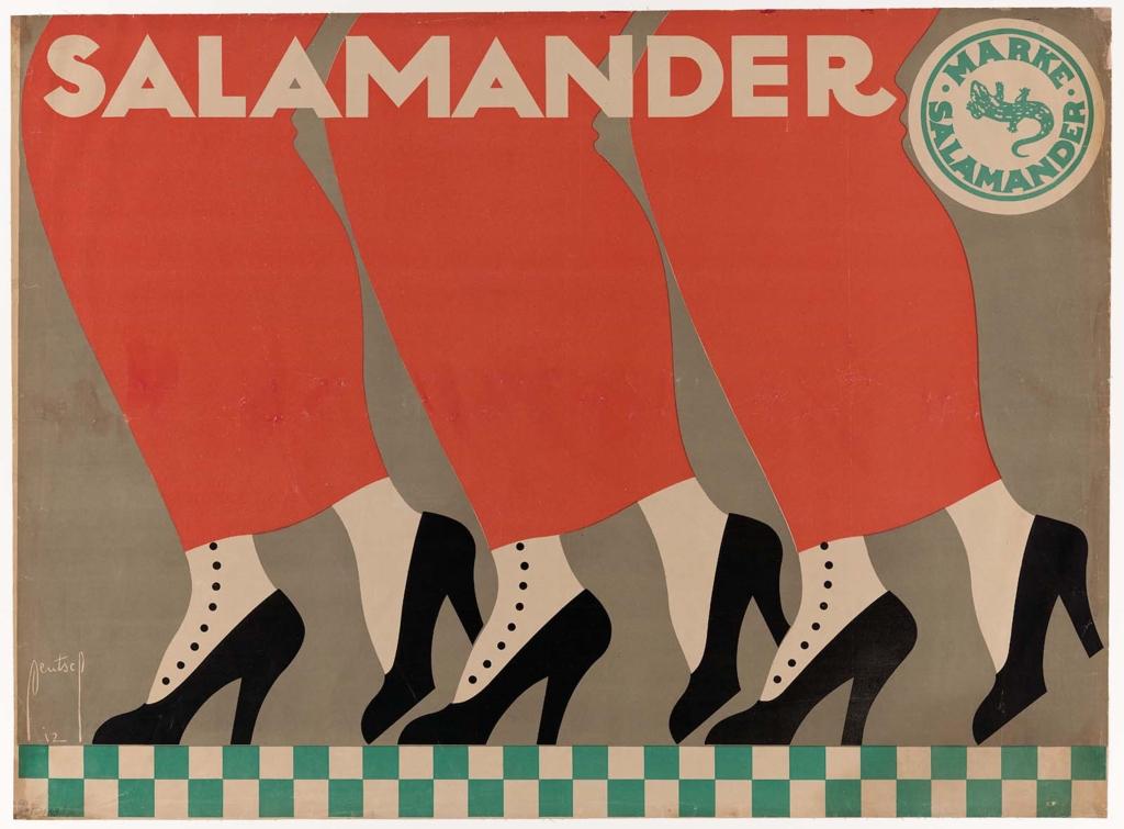 Salamander Shoes. 1912.