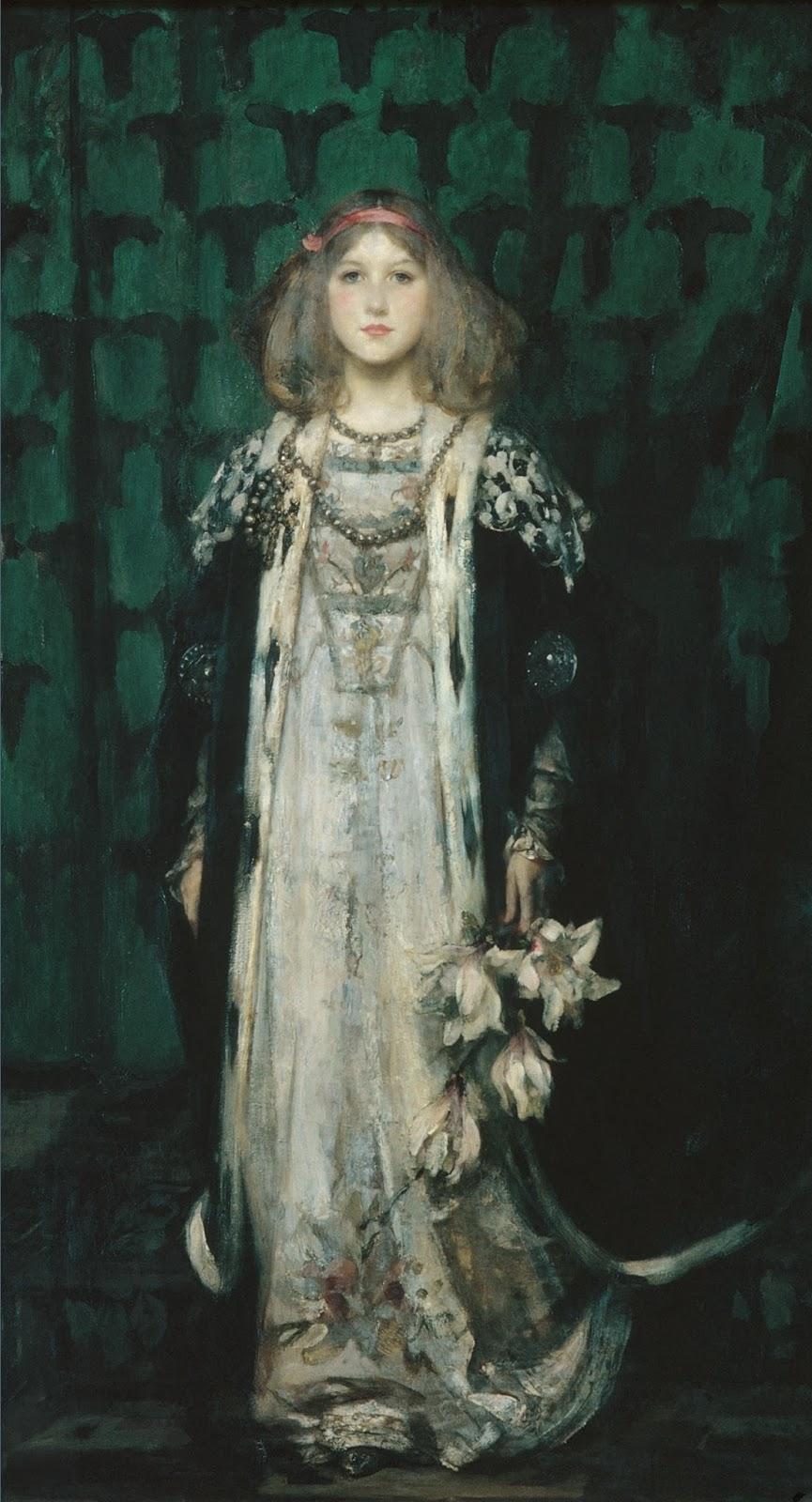 """""""Magnolia."""" 1899."""