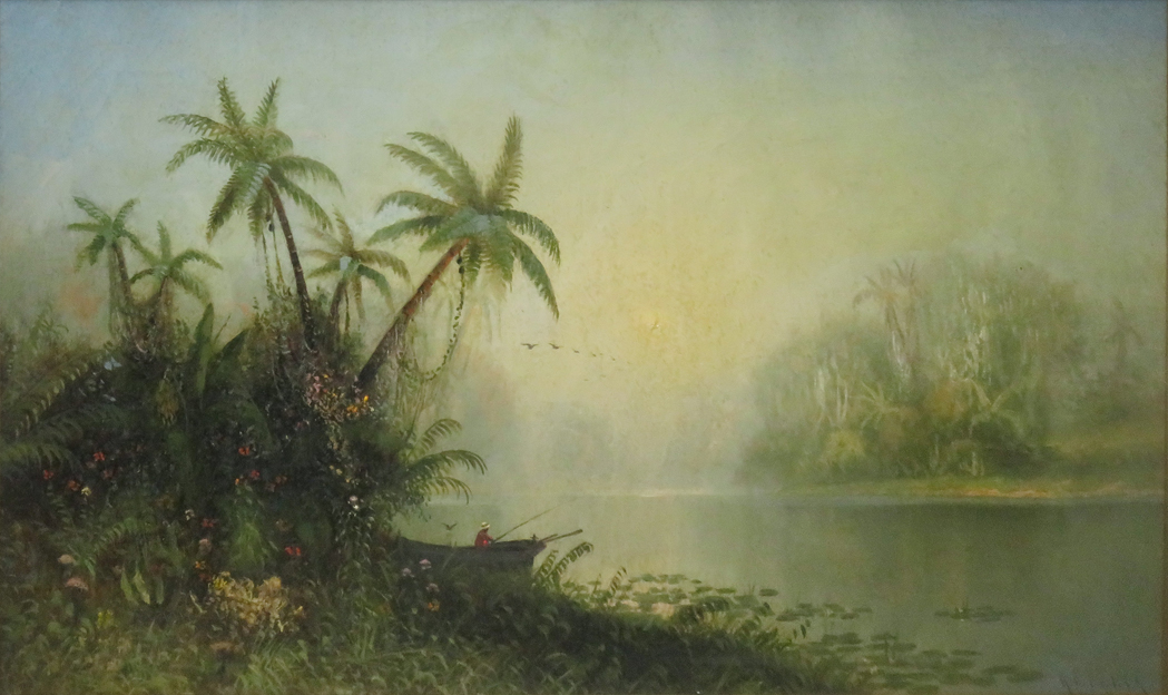 """Fishing in the tropics."" Undated."