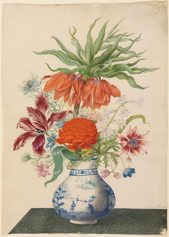 Een Bloem Pot (Eine Blumenvase).