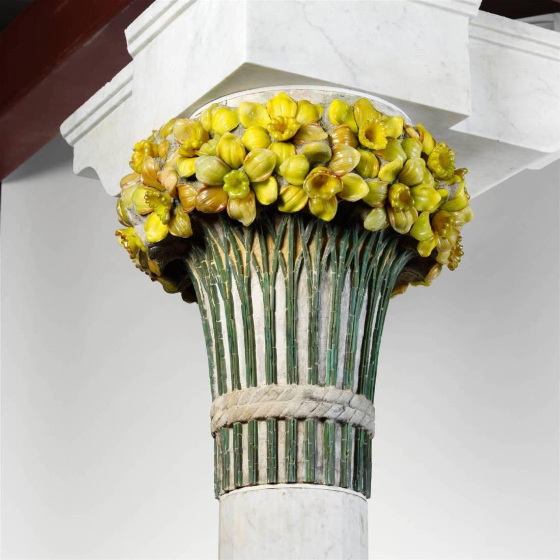 Daffodil Terrace capital.  ca. 1893.