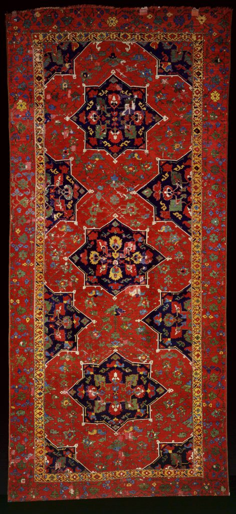 Carpet with star medallions. Late 15th-early 16th c.
