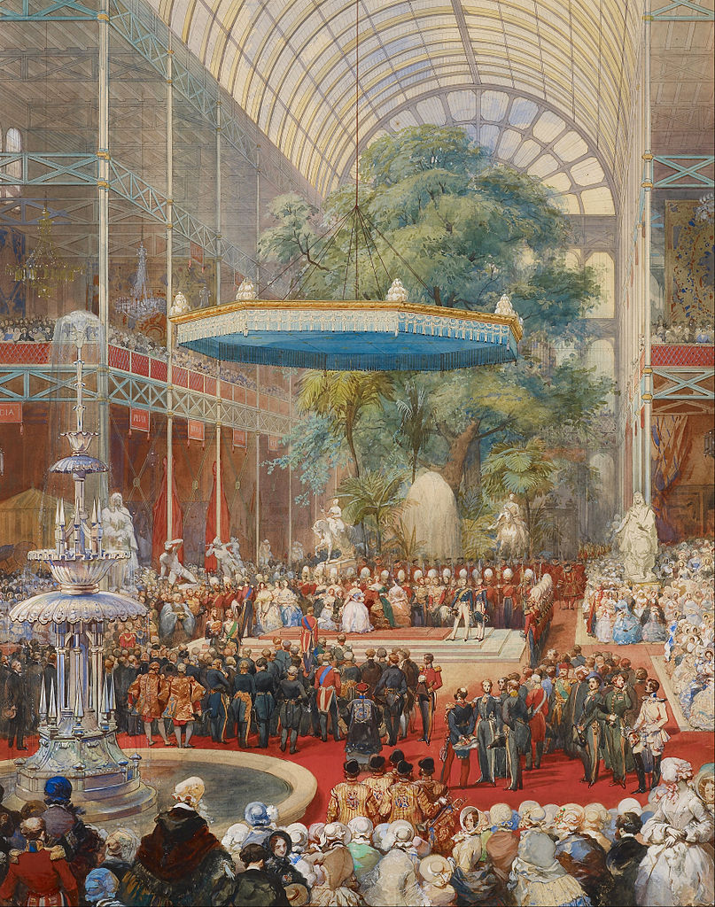 """Opening of the Great Exhibition, 1 May 1851."""
