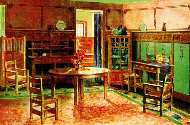 Dining room. 1905.