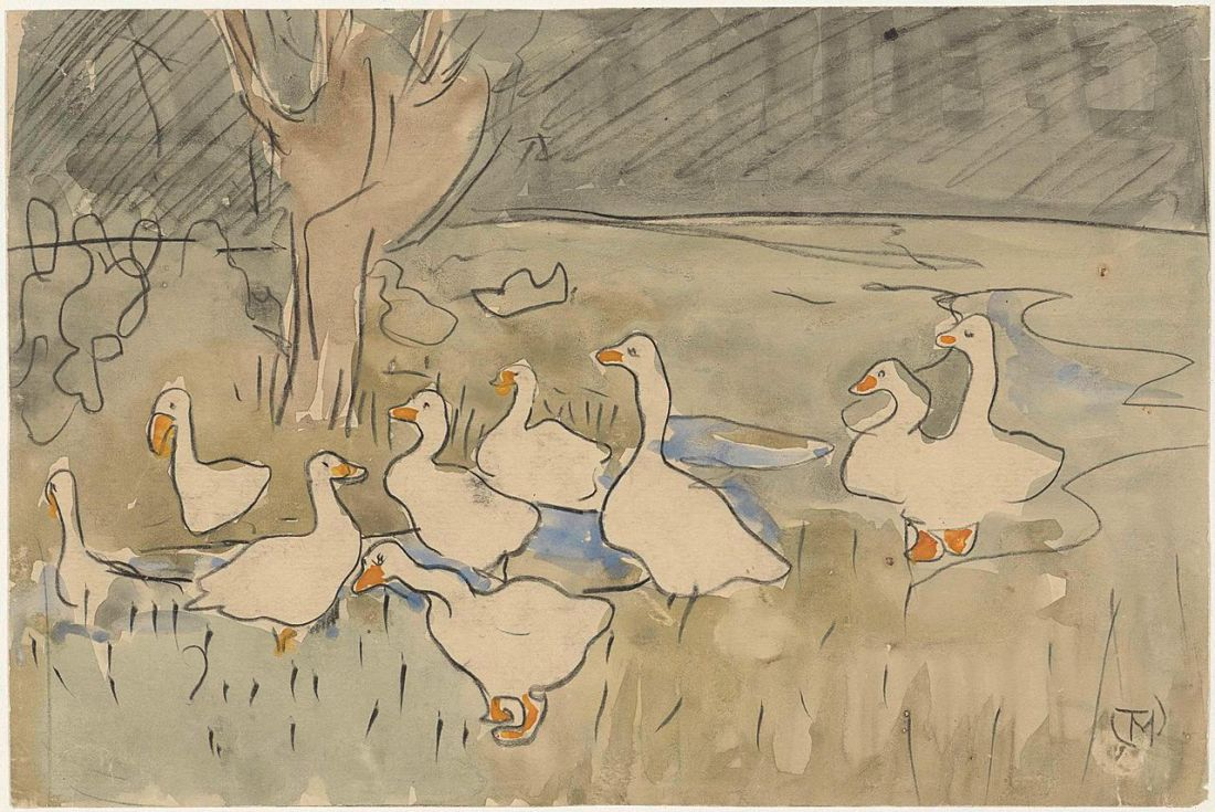 """Ducks."" Undated."