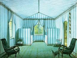 Tent room in Schloss Charlottenhof, Berlin. 1829.