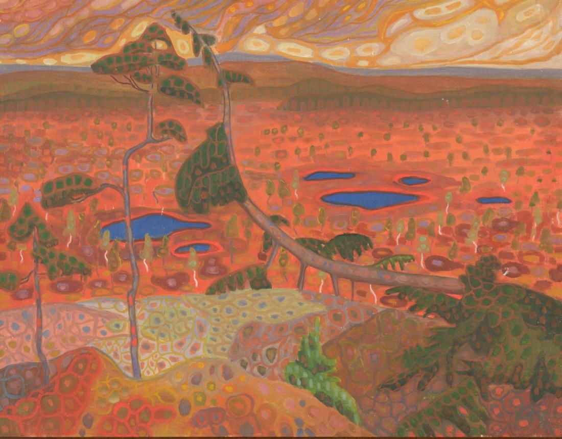 Landscape. 1908.