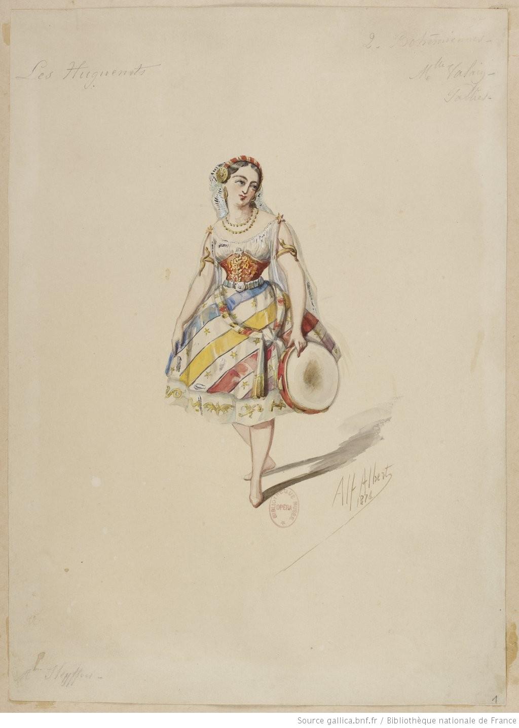 """""""Les Huguenots."""" (Image 1)."""