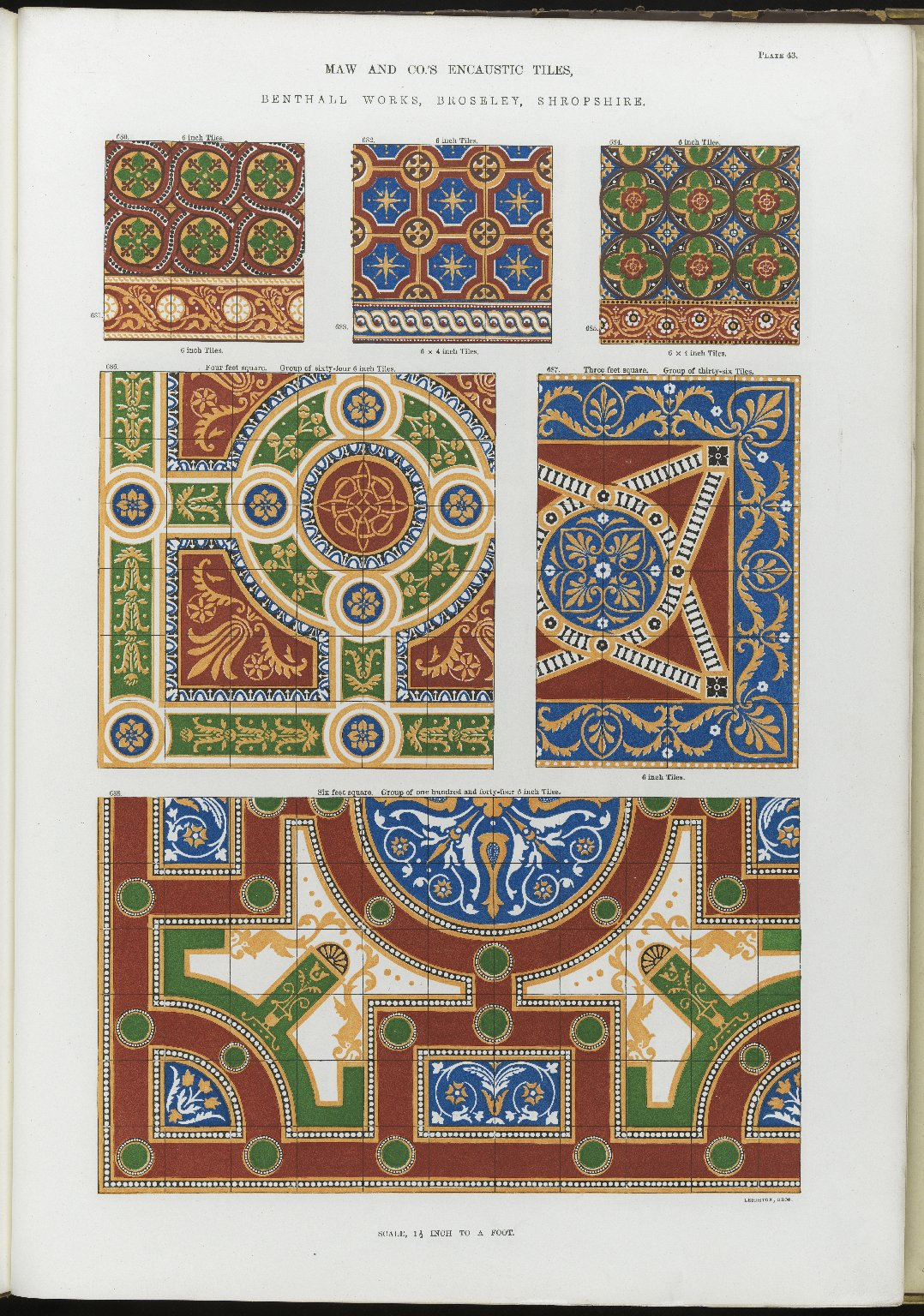 """Encaustic Tiles."""