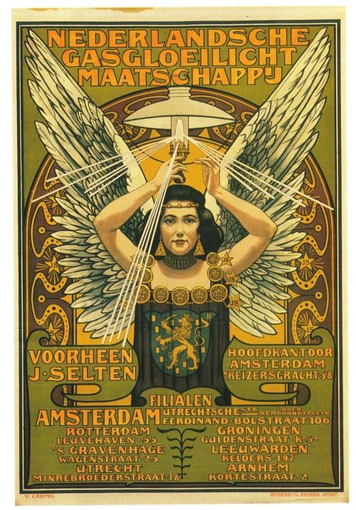 """""""Nederlandse Gasgloeilicht Maatschappi."""" 1897."""