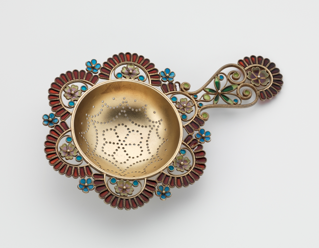 Tesil Sil (tea strainer). ca. 1900.