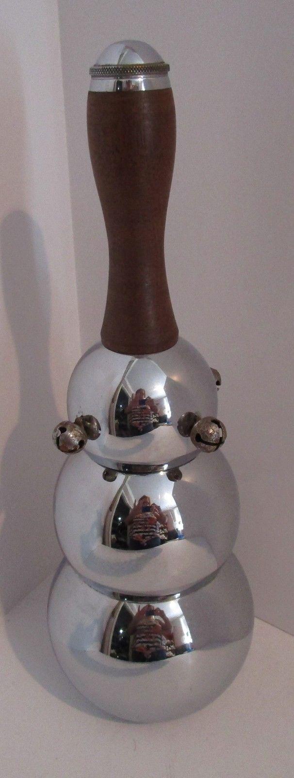 Bubble jingle bell. Mid 20th c.