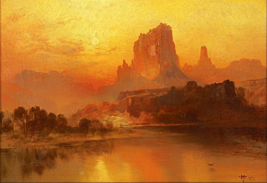 """The Golden Hour."" 1875."