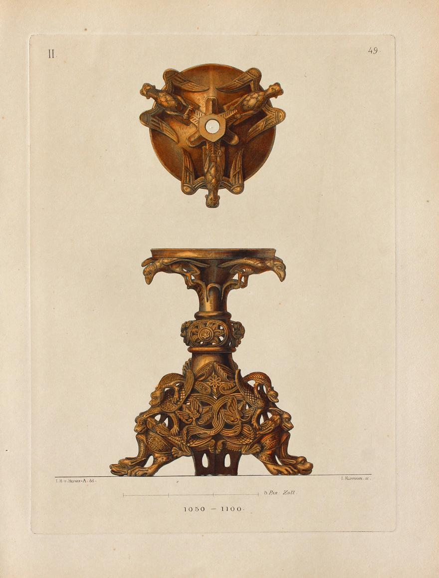 Candelabra or sconce. 1050-1100.