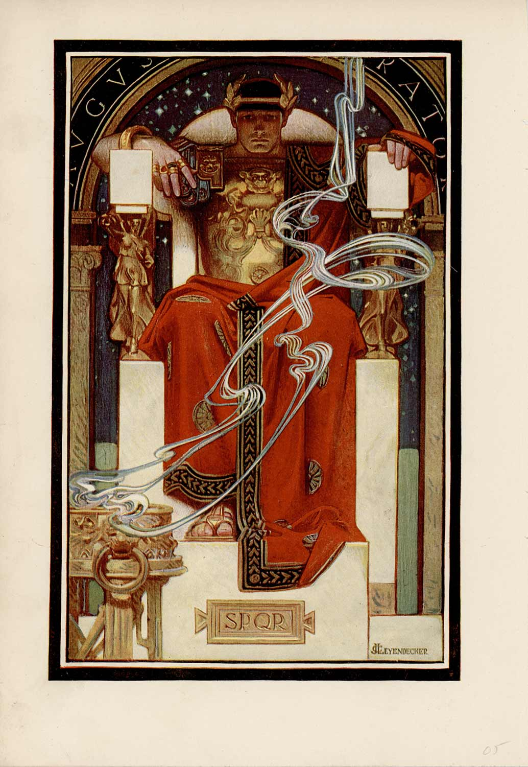 December, 1905 artwork for Century Magazine.